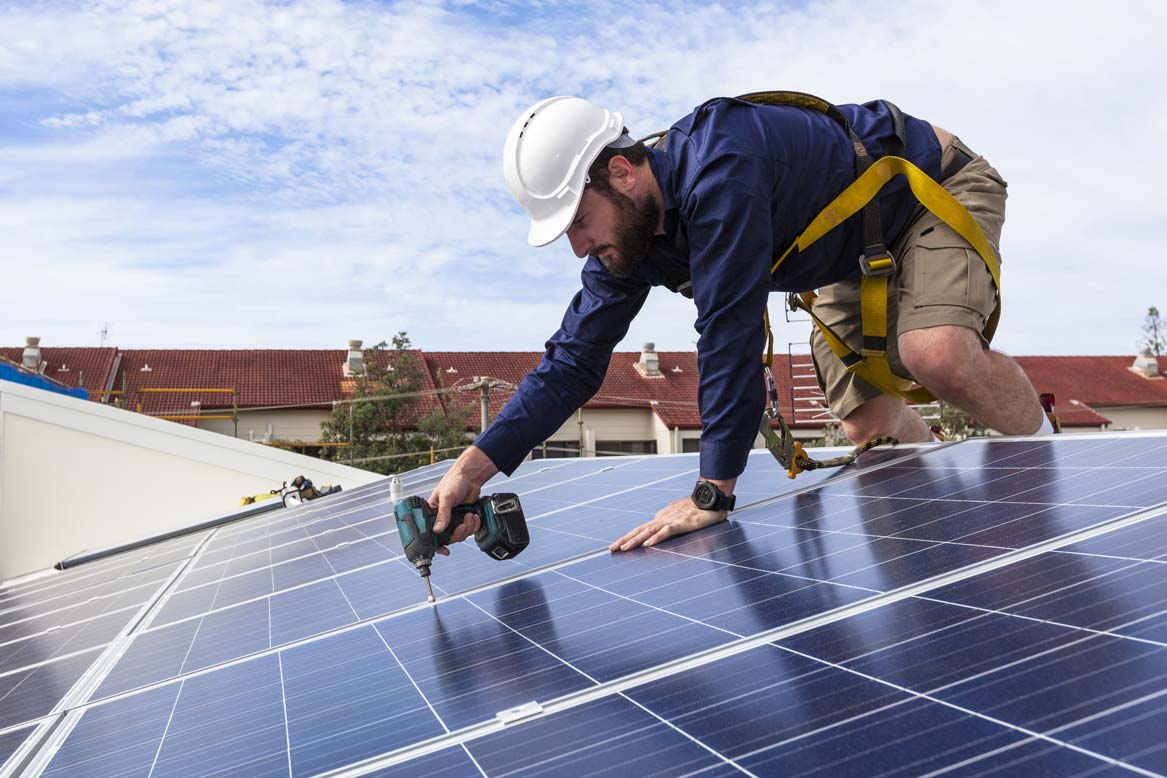 Photovoltaik Mons Solar Montage Diepoldsau Schweiz